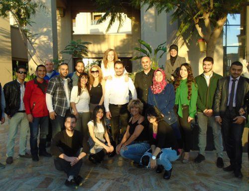 Presentation At Dead Sea Resort